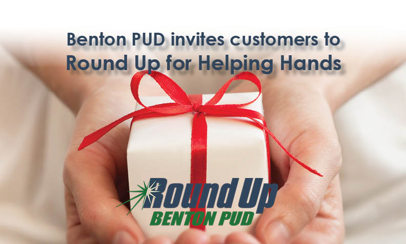 Benton PUD invites customers to Round Up for Helping Hands