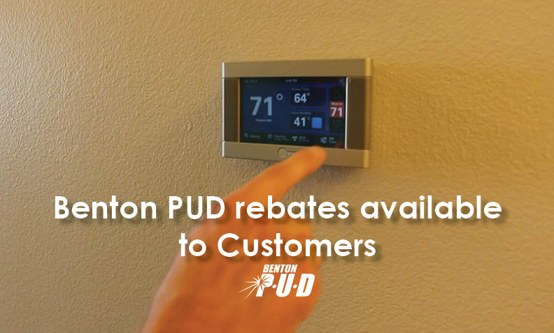 Benton PUD Rebates Available to Customers