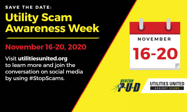Avoid Utility Scams - Utility Scam Awareness Week 2020